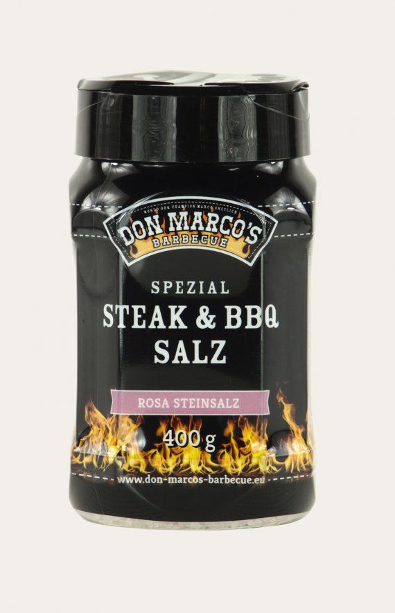 "Spezial Steak & BBQ Salz ""Rosa Steinsalz"" 400g (Firekitchen)"