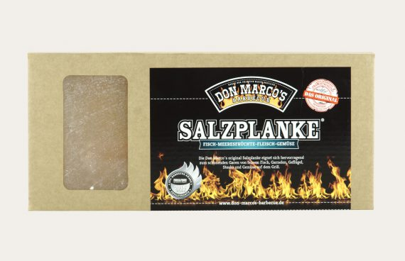 Don Marco´s original Salzplanke® (Firekitchen)