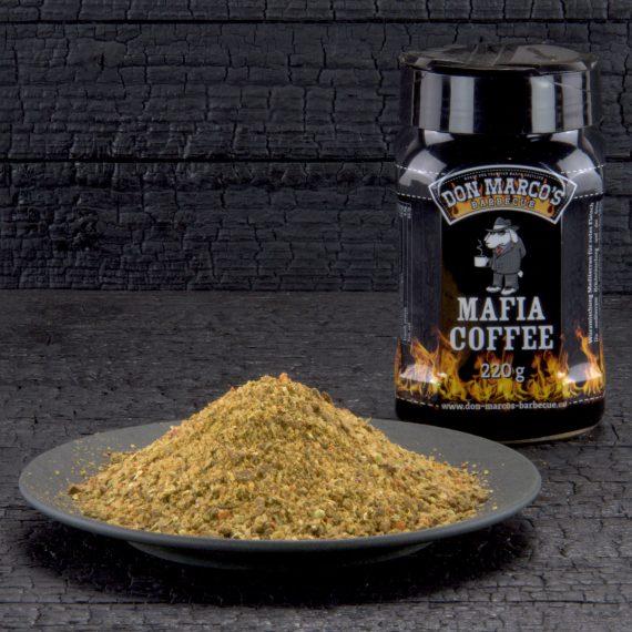 Don Marco's Mafia Coffee Kohle Hintergrund