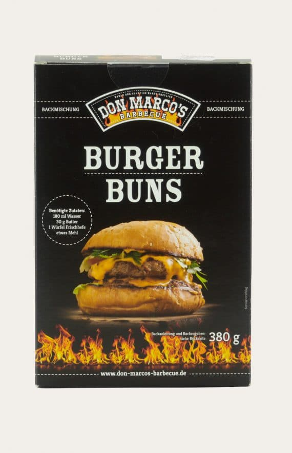 Don Marco's Burger Buns 380g