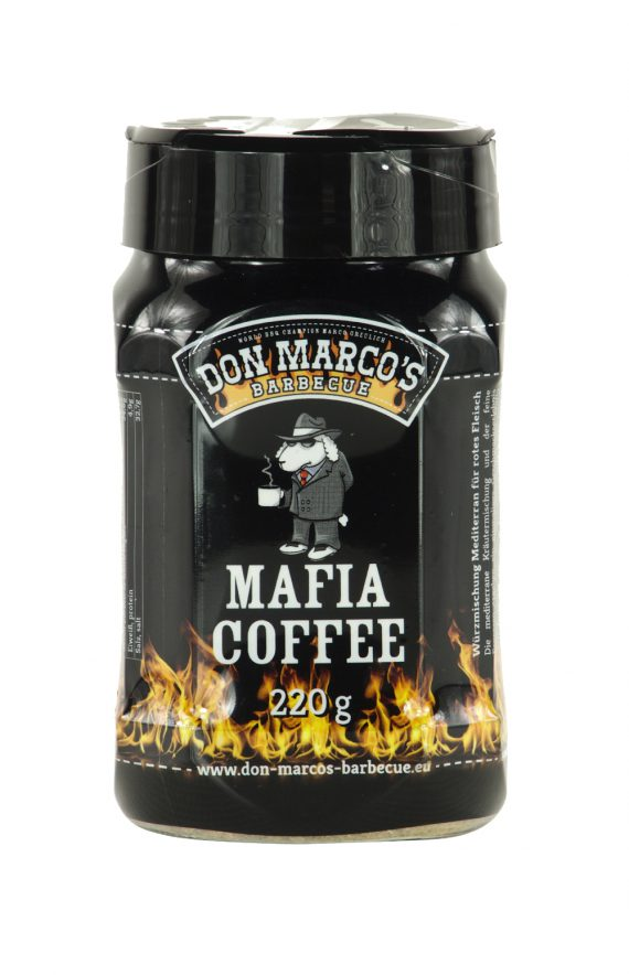 Don Marco's Mafia Coffee in schwarzer PET Dose