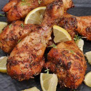 chicken drumsticks mit zitrone 2
