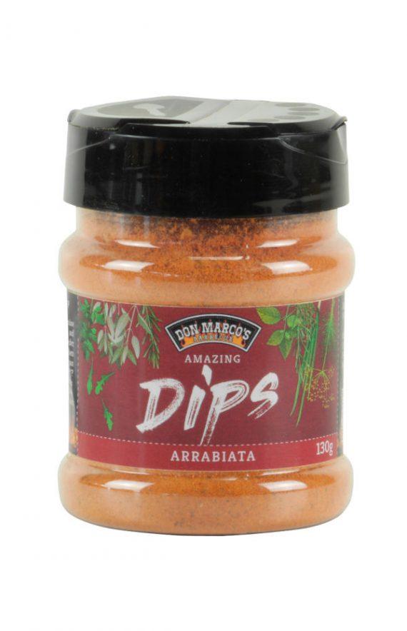 Streudose Gewürzmischung für Dips, Don Marco's Amazing Dips Arrabiata