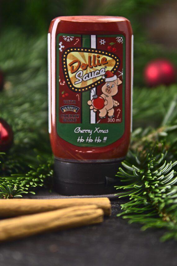 dollie sauce cherry x mas weihnachtlicher hintergrund