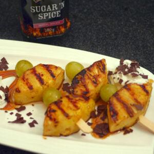 Ananas Lollipops inkl. Sugar 'N Spice Dose