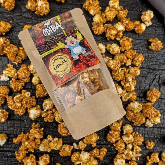 Salziges Popcorn und Senf klingt erstmal verkehrt, aber unser Odiba Gourmet Popcorn Carolina Mustard beweist, dass es schmeckt!